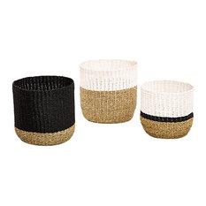 Eloise Storage Baskets, Set of 3