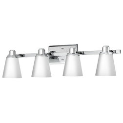 New Transitional Bathroom Vanity Lighting by Linea di Liara