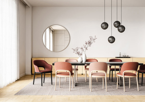 Programm 520 chair by Marco Dessí for Thonet
