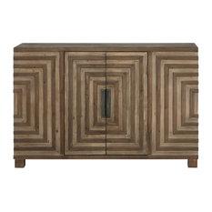 Layton Geometric Console Cabinet