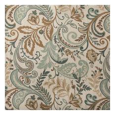 Designer Roman Shades Plain Fold, 24Wx64H, Seaglass