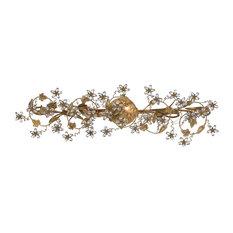 Crystorama Paris Market 5-Light Gold Vanity-Light I