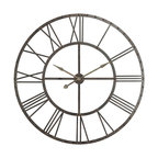 13 5 In Circular Wooden Wall Clock Rooster Print