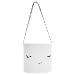 Children's Cotton Creature Lamp, White