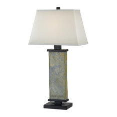 Attractive Bay   Jordan Table Lamp, Porpoise   Table Lamps