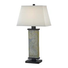 Hanover Table Lamp, Natural Slate Finish
