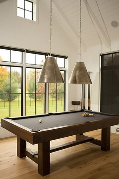 Large room lighting design issue pool table lighting here are a few other options the adjustable one is interesting greentooth Gallery