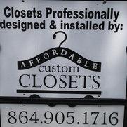 Affordable Custom Closets Greenville