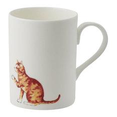 Roy Kirkham Lucy Mug, Ginger Cat