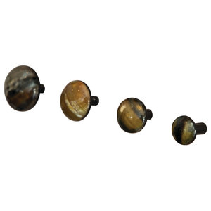 A.U. Maison Horn Hooks, Set of 4, Flat