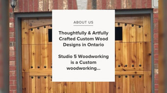 Company Highlight Video by Studio 5 Woodworking