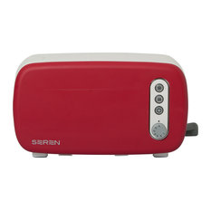 Seren Toaster Front Panel, Red