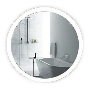 Daytona Led Mirror Contemporary Bathroom Mirrors By