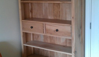 Bespoke oak bookcases