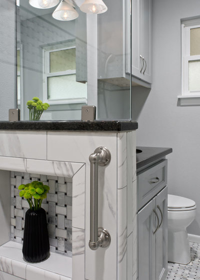 Transitional  by The Inside Story Design, LLC