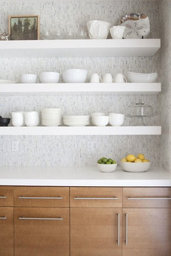 Would Thick Floating Shelves Work Into The Style Of Your Kitchen?