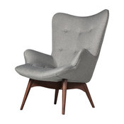 Contour Chair, Light Gray