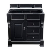 """Brookfield 36"""" Single Vanity Antique Black, Cabinet Only (Top Not Included)"""