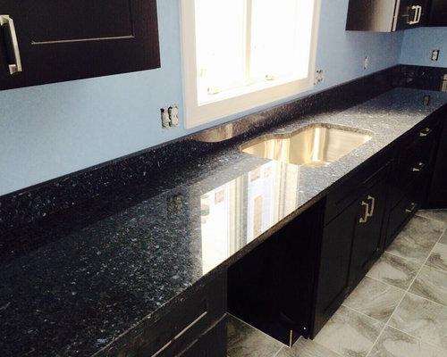 Blue Pearl Granite Kitchen Countertops!