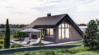Архитектурные проекты коттеджей, ландшафтный дизайн