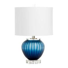 CYAN DESIGN - Cyan Halden Table Lamp, Blue - Table Lamps