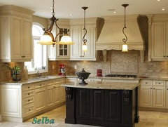 darkening kitchen cabinets would you choose white or espresso island 3102