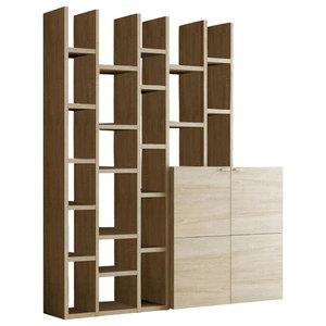 Torero Modular Bookcase, Oak