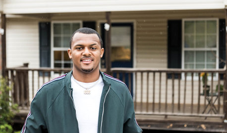 My Houzz: NFL Star Deshaun Watson Surprises Mom With a Remodel