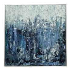 Hanging Art Painting With Silver Border Frame