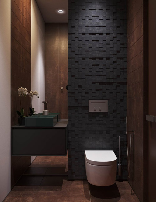 Powder Room Accent Wall Ideas
