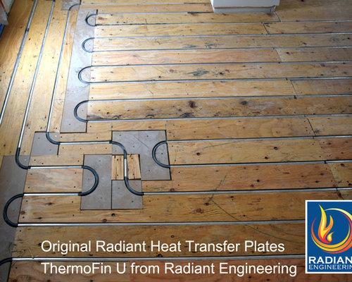 Thermofin U Radiant Heated Floor New Construction
