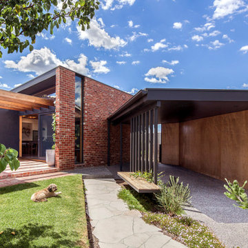 New Recycled Brick House