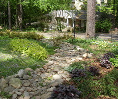 How To Build A Dry Creek Bed Houzz