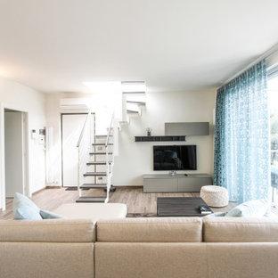 Ispirazione per case e interni minimalisti di medie dimensioni