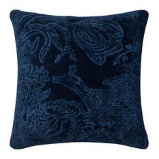 Loloi Transitional Cotton Pillow Cover, Indigo, 26  x26