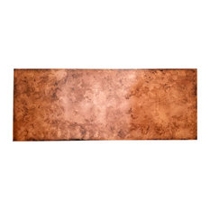 Smooth Aged Copper Queen Headboard