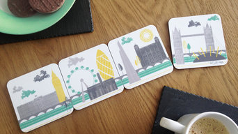 London Skyline Coasters