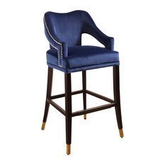 Surprising 50 Most Popular Blue Bar Stools And Counter Stools For 2019 Machost Co Dining Chair Design Ideas Machostcouk