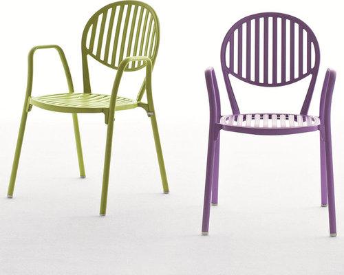 Olympia Karmstol, Lila - Udendørs spisebordsstole