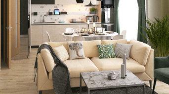 Квартира для семьи из 4-х человек (106 кв.м)