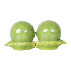 Green Peas in a Pod Salt and Pepper Shaker Set
