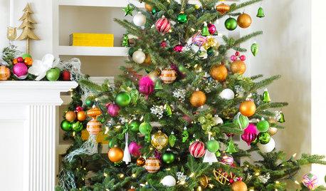 Bildskönt: Från sparsmakad till extravagant – julgranar för alla