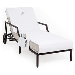 Transitional Outdoor Chaise Lounges by Linum Home Textiles