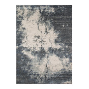 "Loft Loomed Rug, Gray, 7'10""x9'10"""