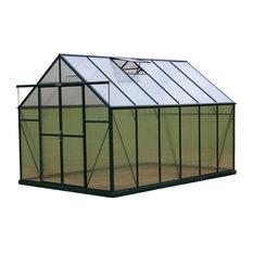 Grandio Greenhouses Ascent Walk-In Greenhouse, 8'x12', Wood Anchor
