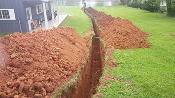 Horizontal Trench Geothermal Heating and Cooling Install