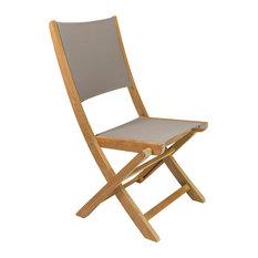 HiTeak Furniture - Stella Chair, Set of 2 - Outdoor Folding Chairs