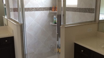 Replacement shower door