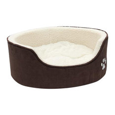 Sam Luxury Oval Dog Bed, Medium