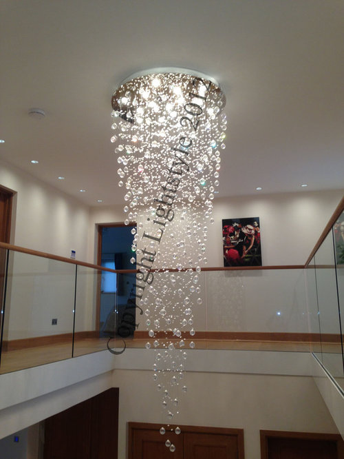 Stairwell Chandeliers
